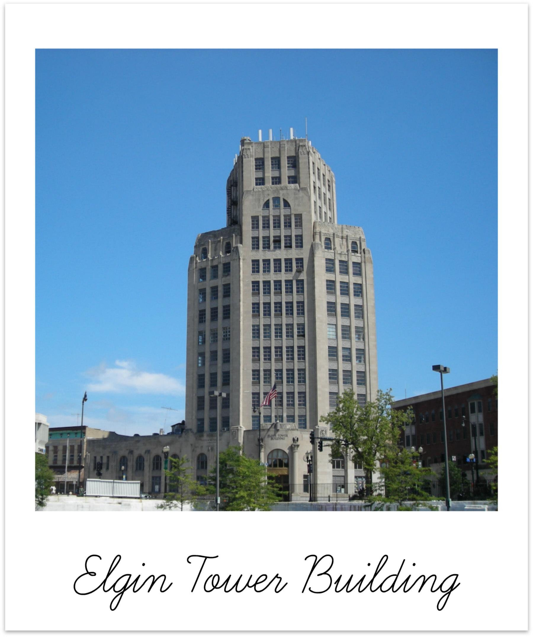 Elgin Illinois Tower Building BRIX Picks