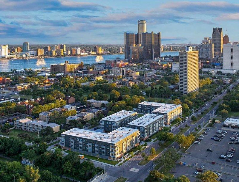 Lafayette Park Detroit