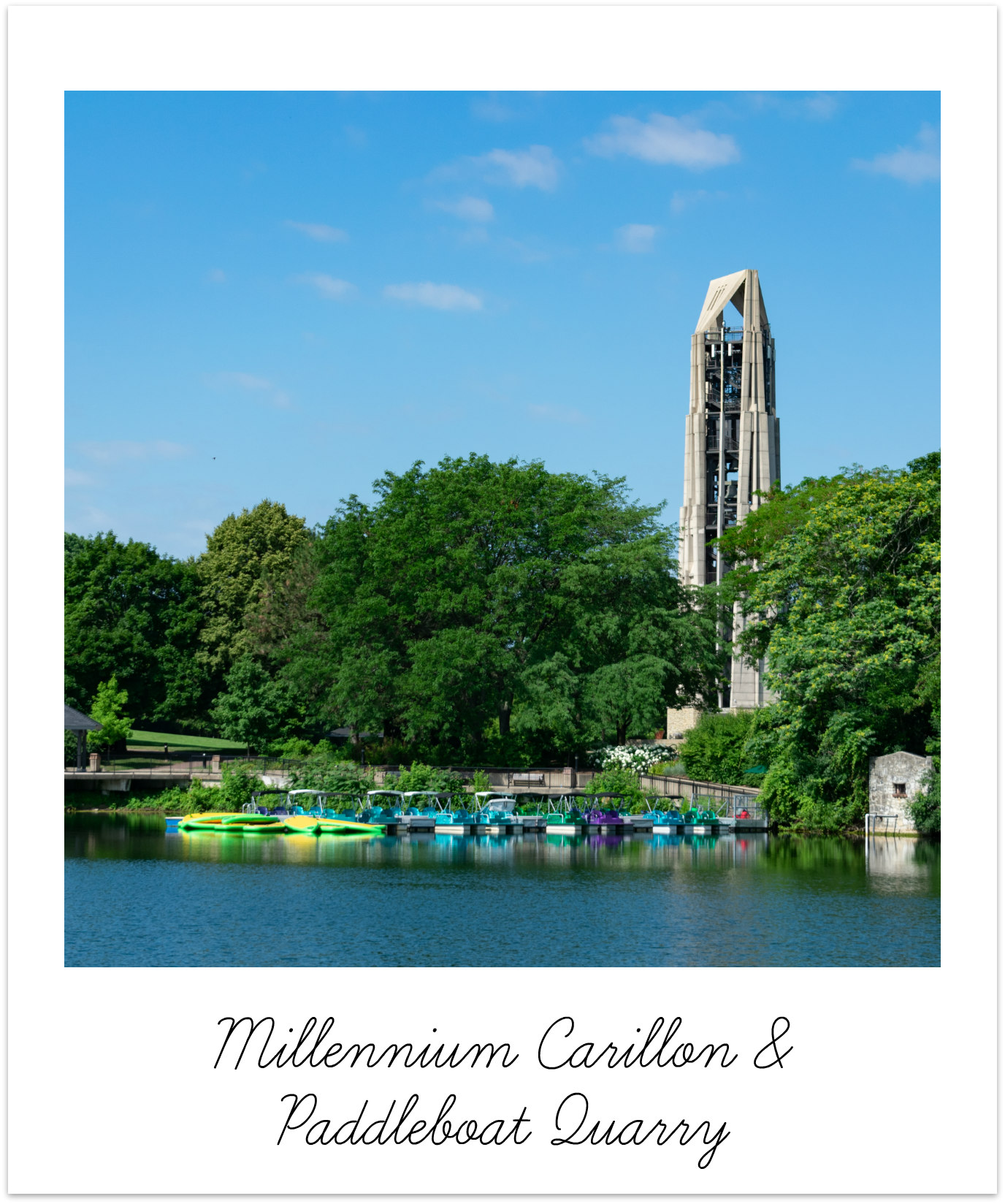 Naperville Millennium Carillon & Paddleboat Quarry BRIX Picks