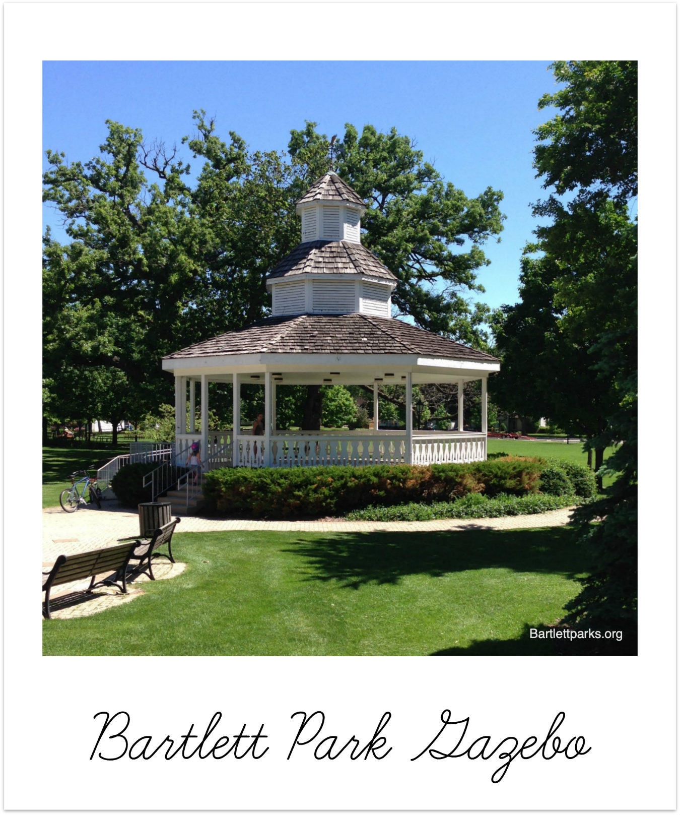 Bartlett Illinois Bartlett Park Gazebo BRIX Picks
