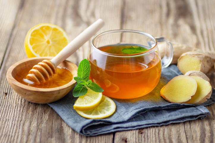 Peppermint tea and it's antiviral properties