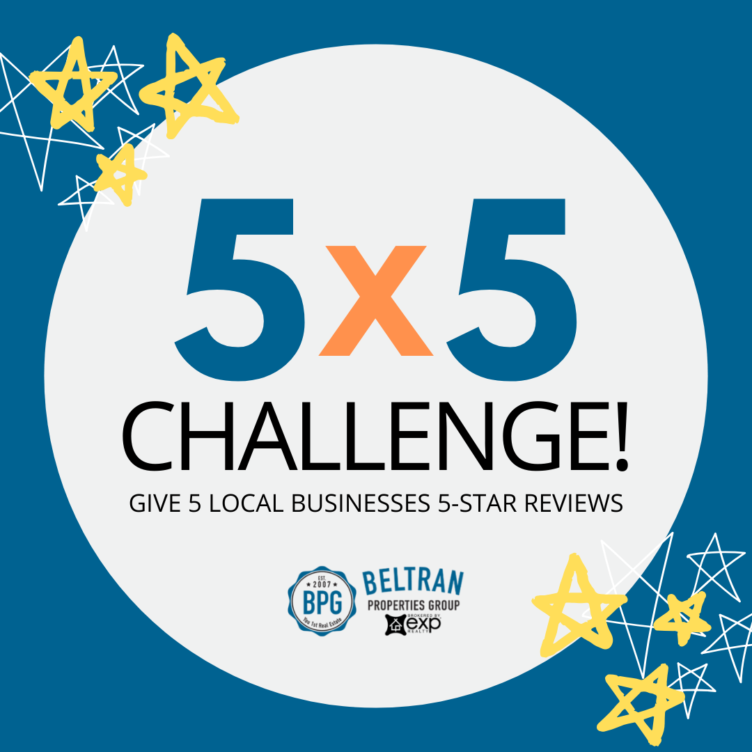 5X5 Challenge to Help Small Business