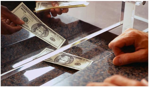Getting Money at Bank