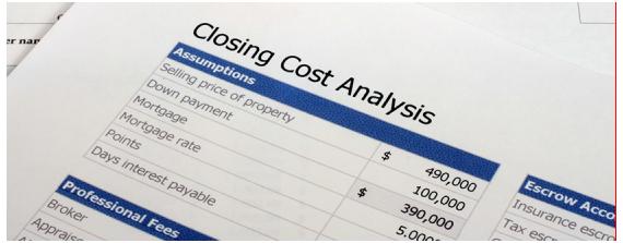 Closing Cost Analysis