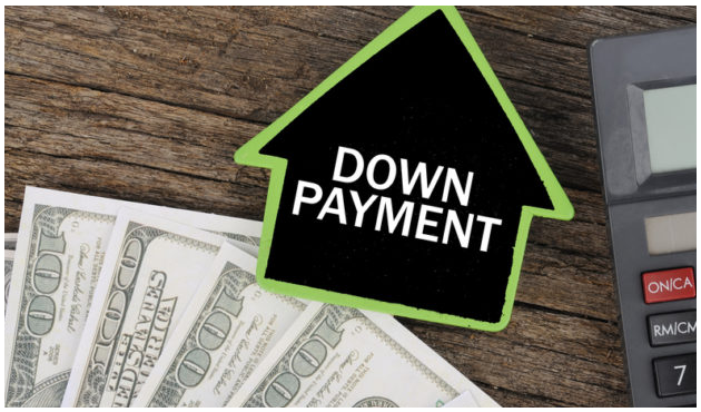 Down Payment Sign