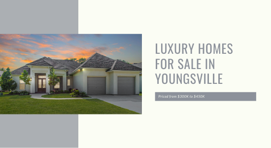 Luxury homes for sale youngsville