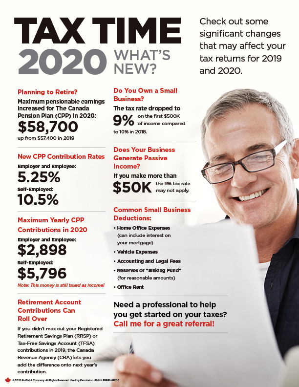 Tax Time 2020 | Whats New?