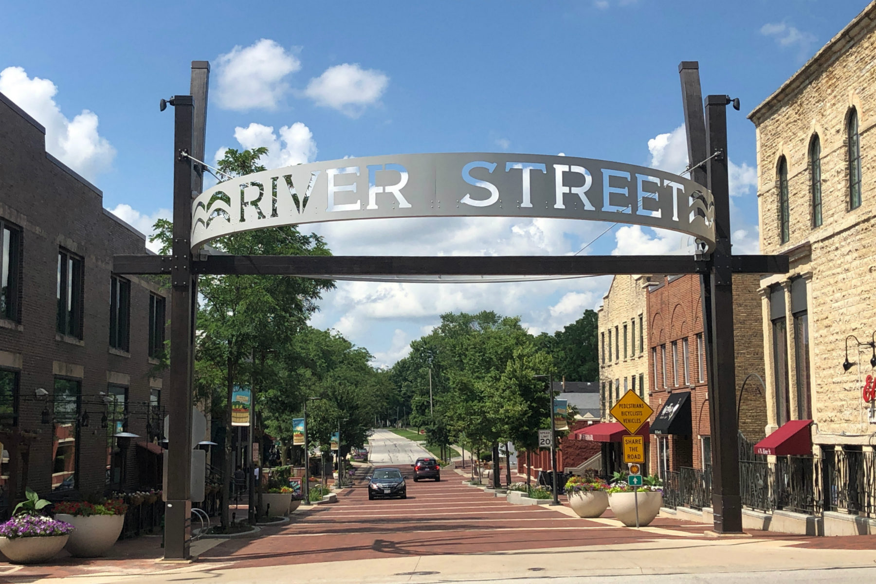 Batavia IL River Street Plaza BRIX Group