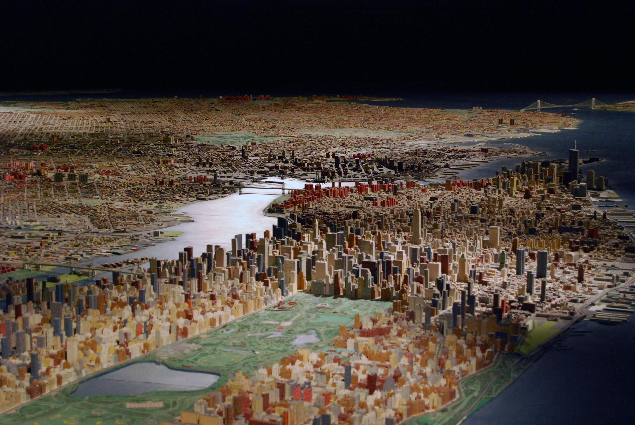 Image of Panorama of NYC at the Queens Museum