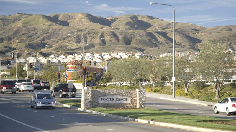 Welcome to Porter Ranch Sign