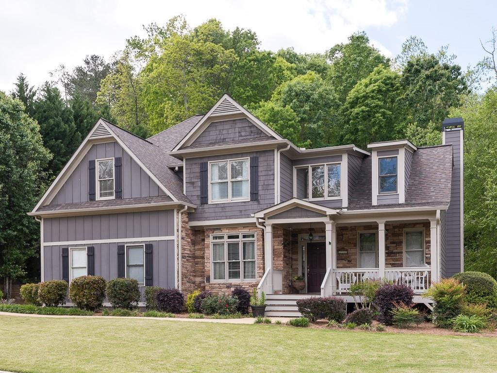 Gray House Exterior