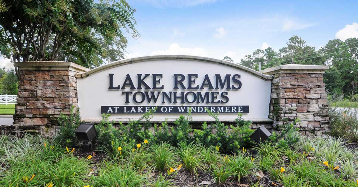 Lake Reams Townhomes in Windermere