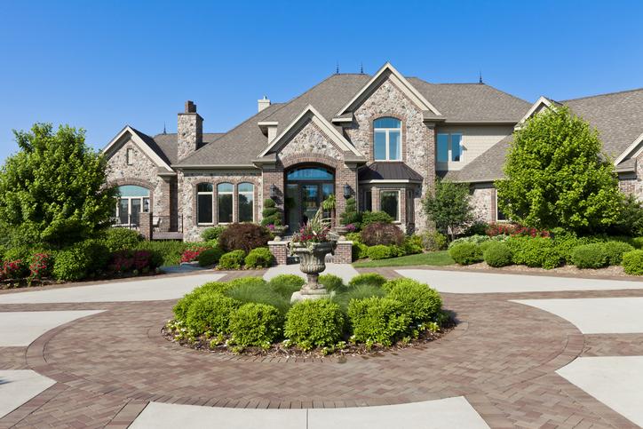 large luxury estate mansion