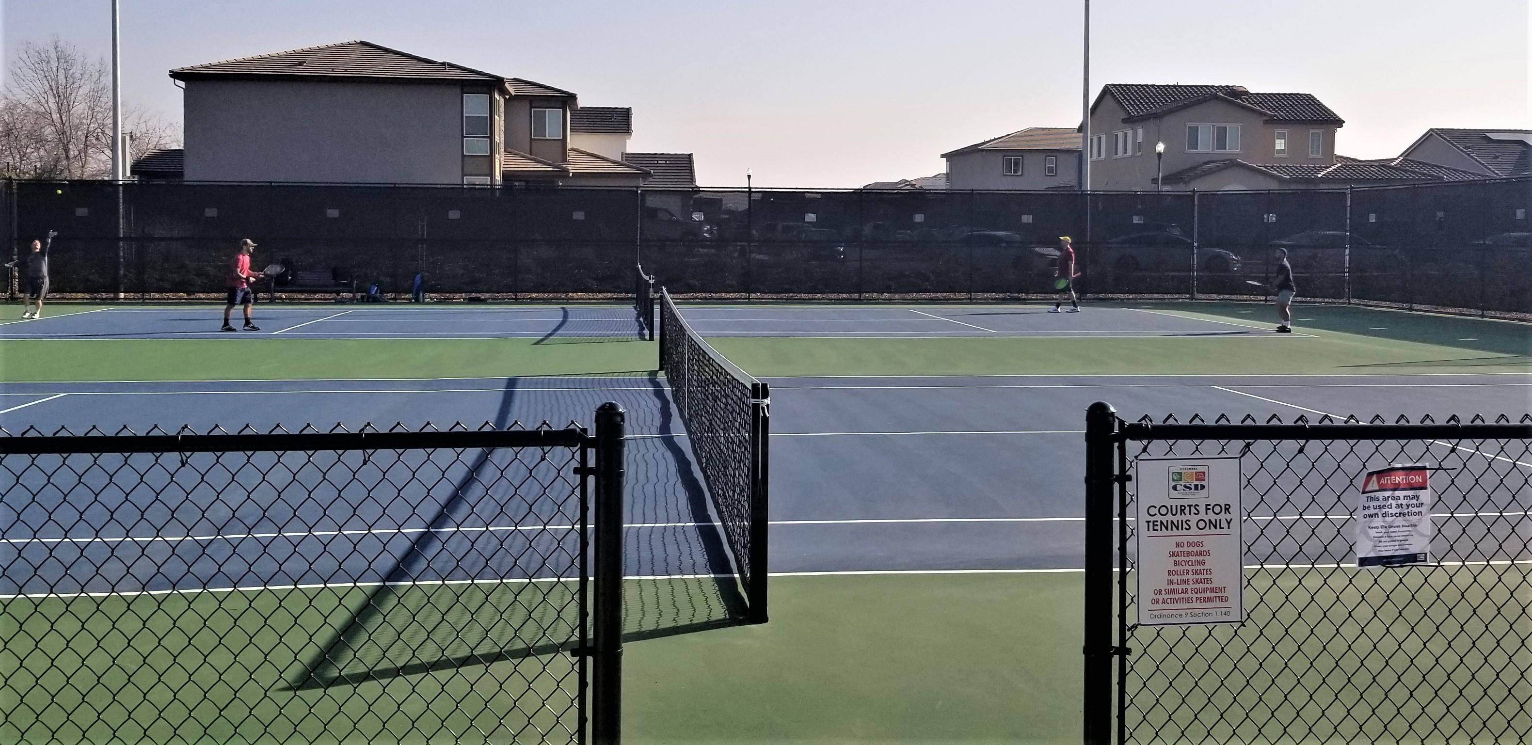 Oasis Park Tennis Courts
