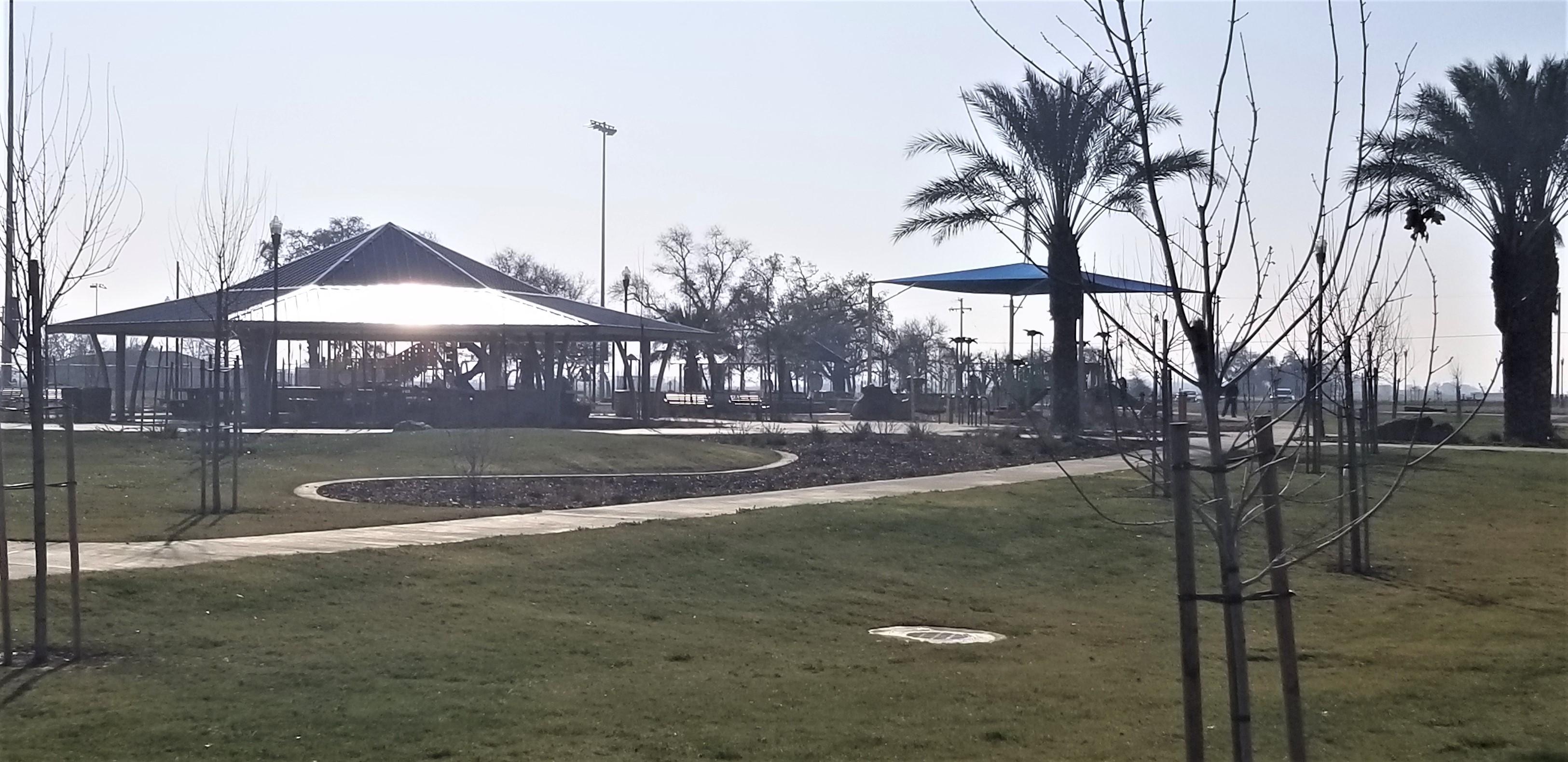 Oasis Park BBQ area