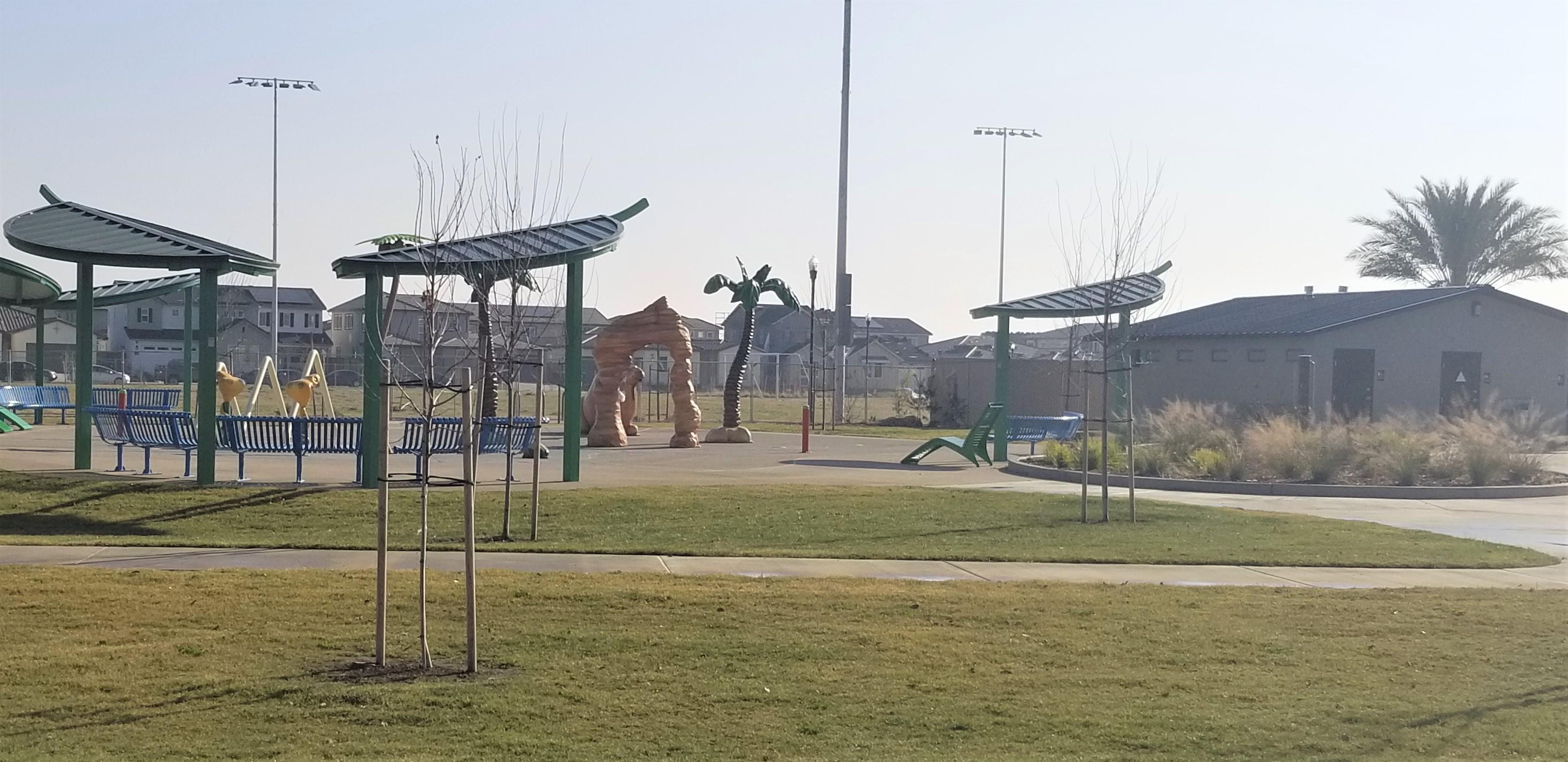 Oasis Park water playground