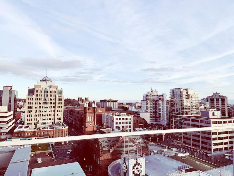 victoria bc cityscape