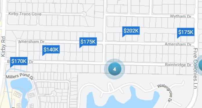 Andover, neighborhood in 38119