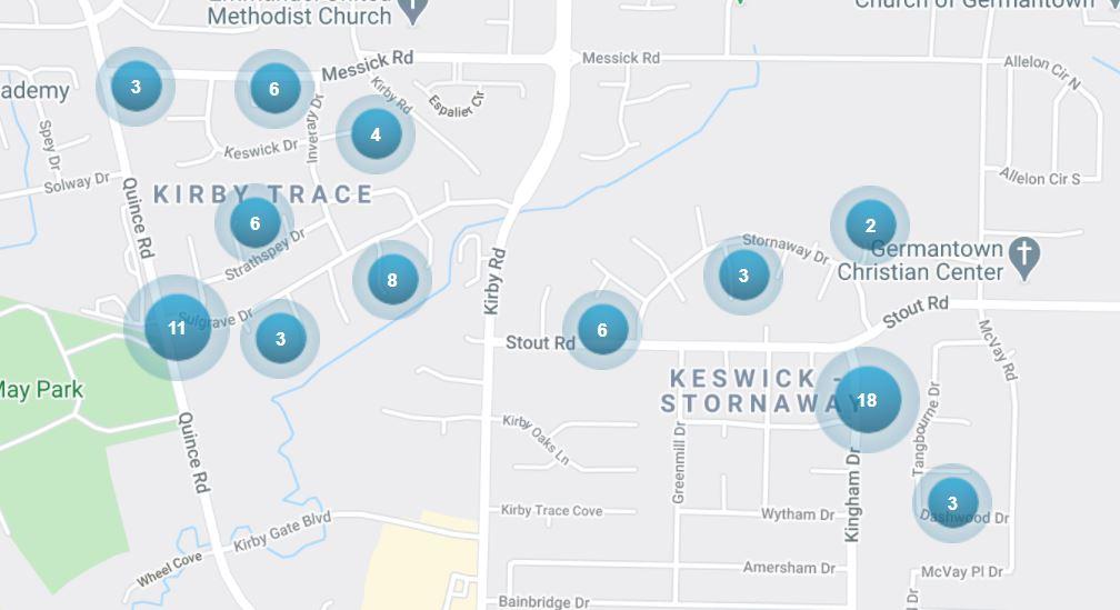 Keswick, neighborhood in 38119