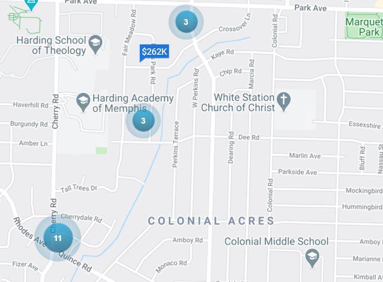 harding sold properties memphis best neighborhoods 38117