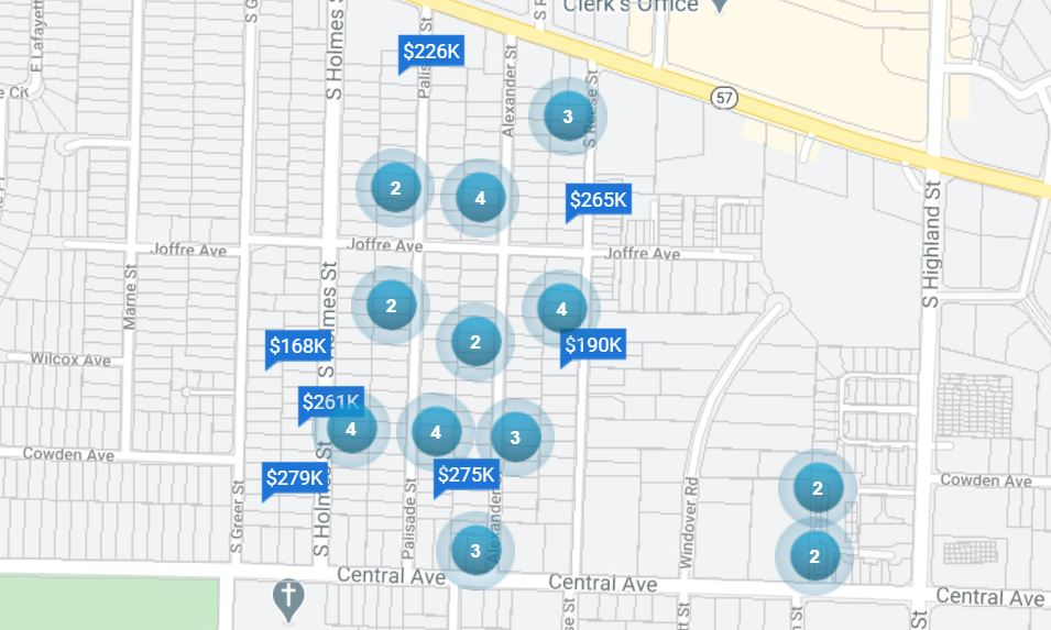 Central park and central poplar affordable neighborhoods in east memphis below $300,000 38111