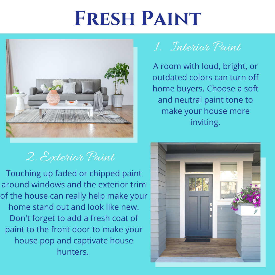 Interior Paint and Exterior Paint