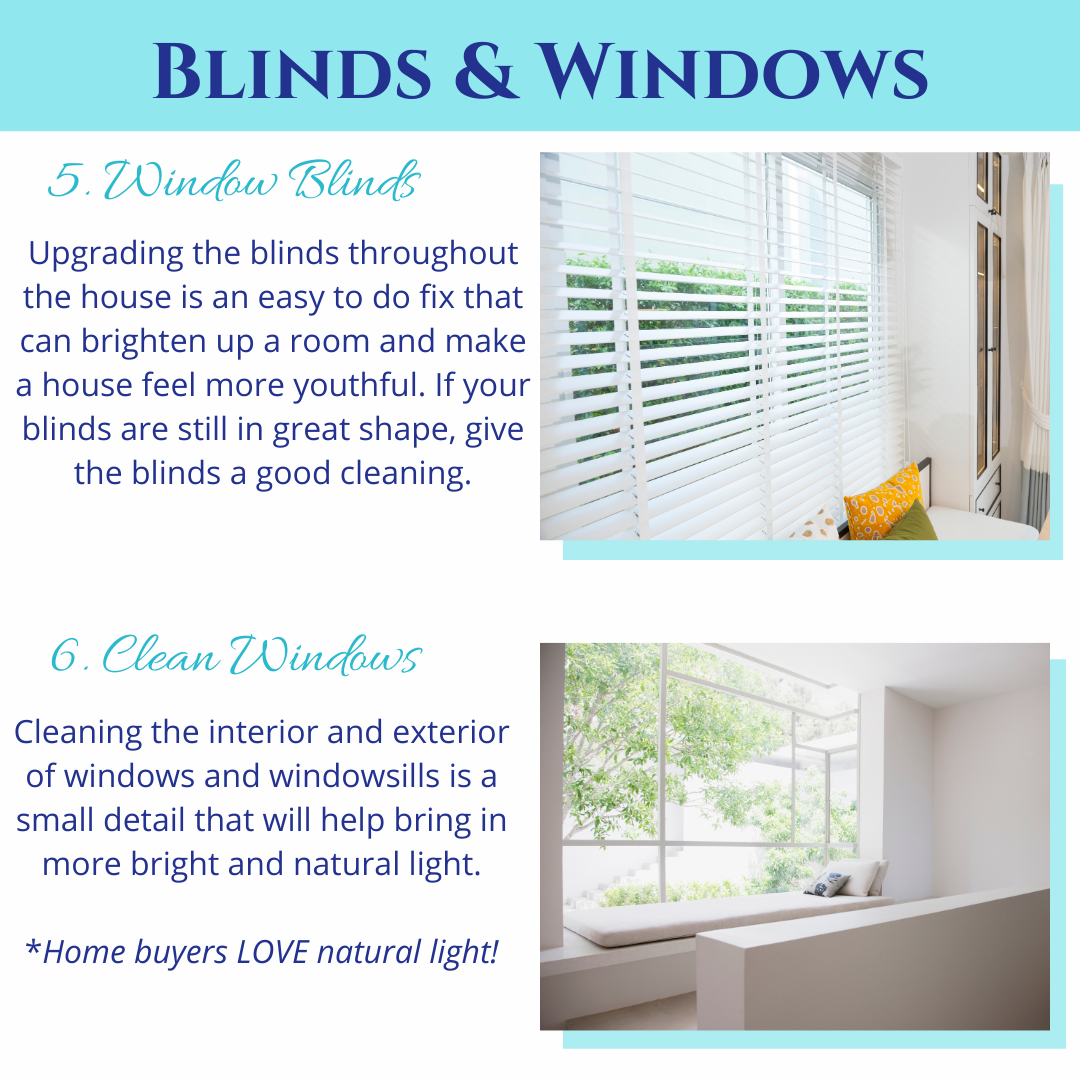 Windows and Blinds