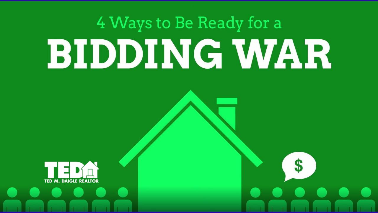 4 ways to win a bidding war