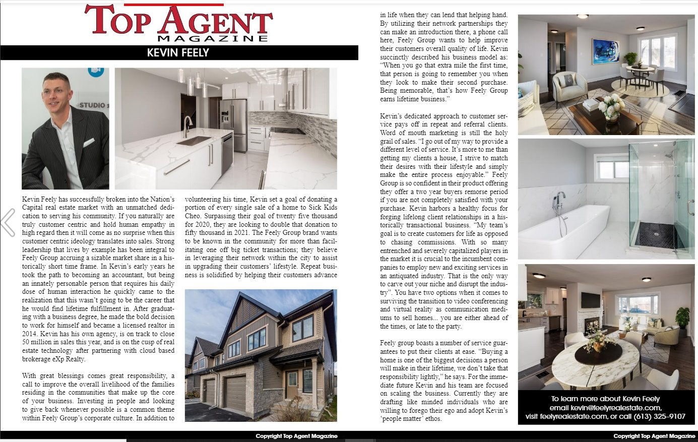 Top Agents, Top Real Estate Agents, Ottawa REaltors, Ottawa Real Estate, Kevin Feely, Feely Group,