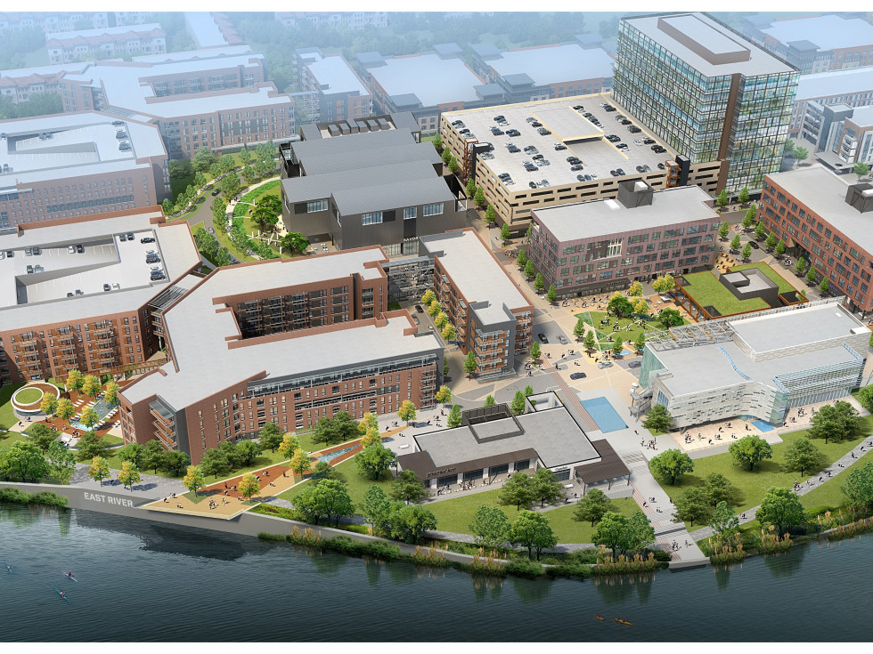 Game-changing waterfront mixed-use development flows into East Downtown