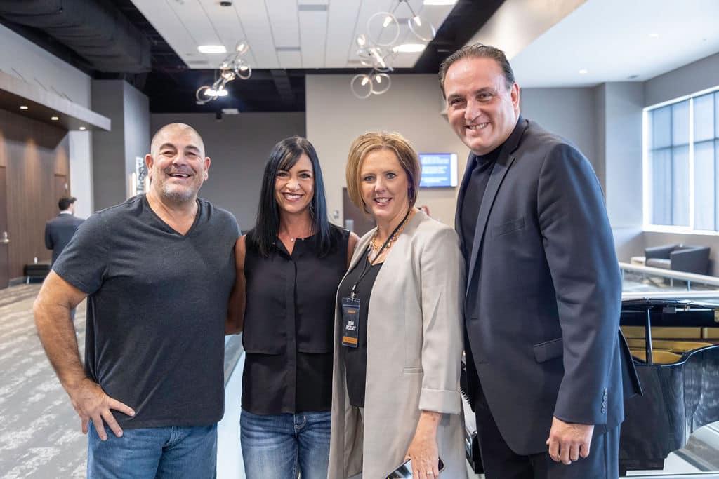 Chuck & Angela Fazio with Jim & Kim Agemy