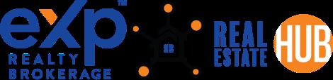 Real Estate Hub, eXp Realty Logo
