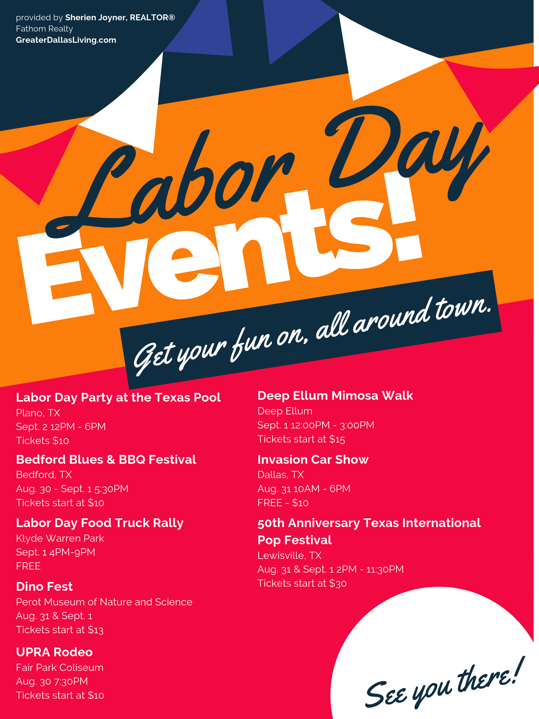 Labor Day Weekend 2019 Events in DFW