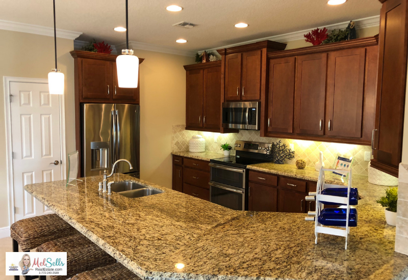 Home Improvements That Pay Off When Selling Your Port St. Lucie Home - Updated Kitchen