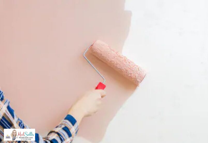 DIY Upgrades That Make Your Jensen Beach Home Sell for More - Paint the wall