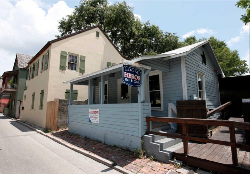 St. George Street property sold at auction