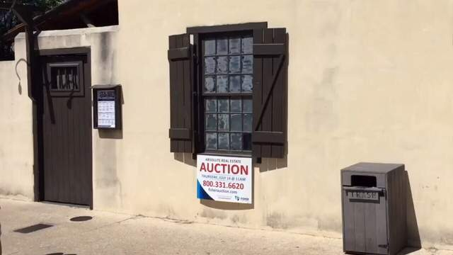 home sold at auction