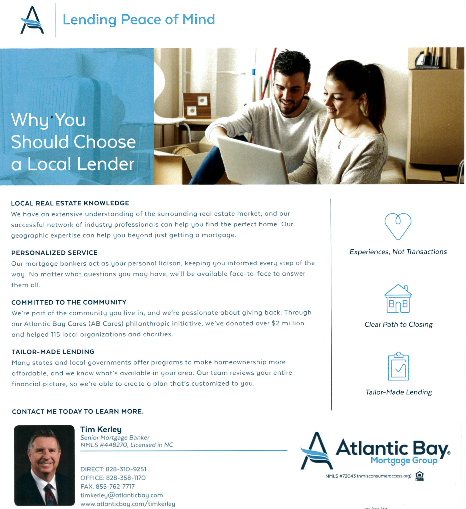 Working with a Hickory NC Lender