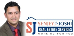 Buy/Sell Your property with Senjey Joshi, The best Real estate broker. Logo