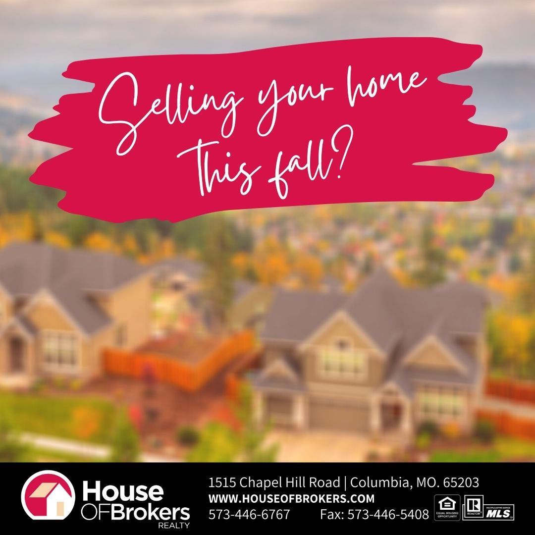 Home selling this fall