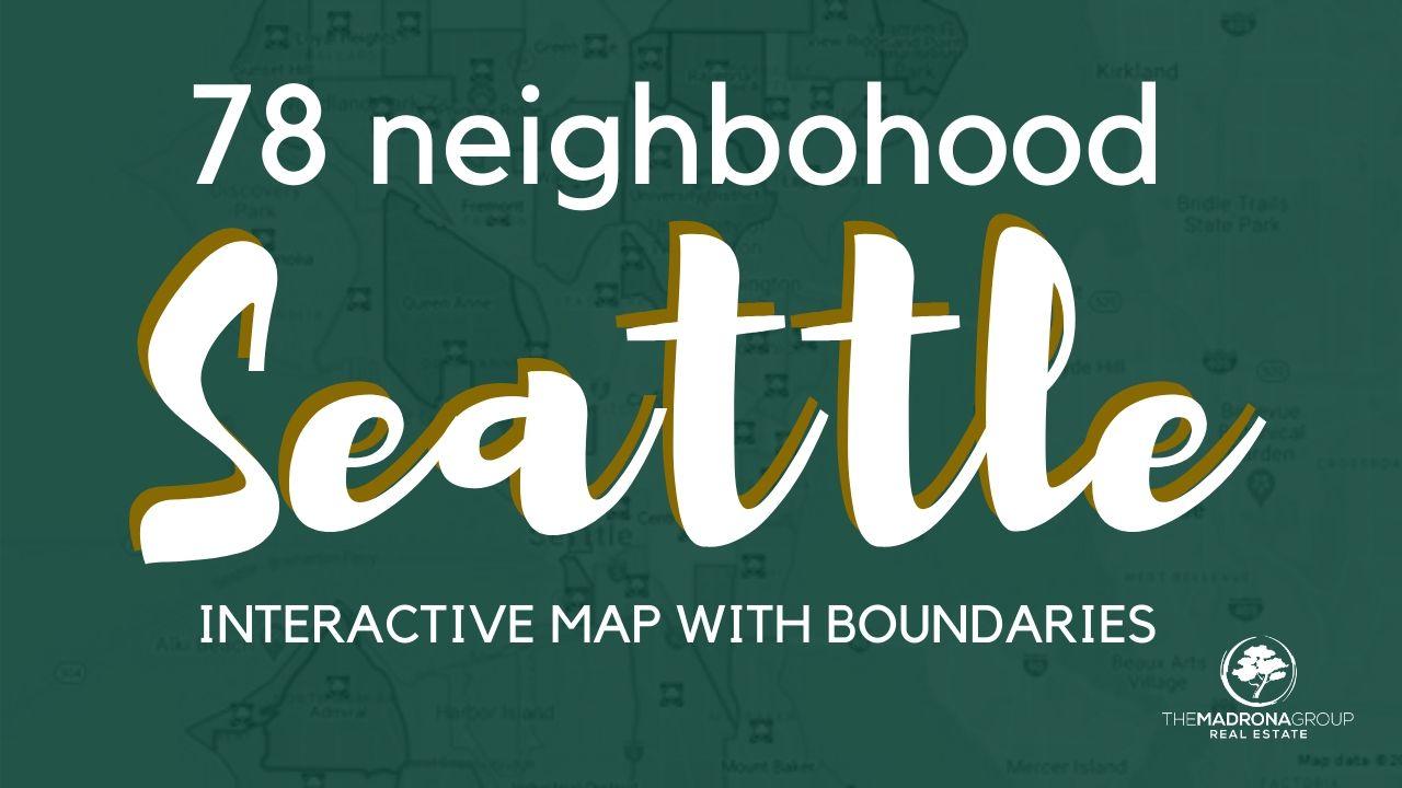 Map of Seattle Neighborhoods