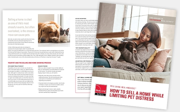 How to sell a home while limiting pet distress