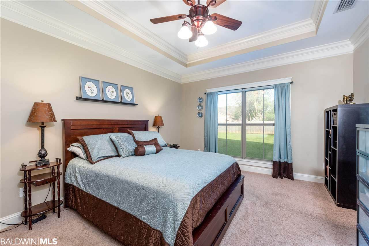 Master Bedroom in Fairhope Alabama North Station Drive