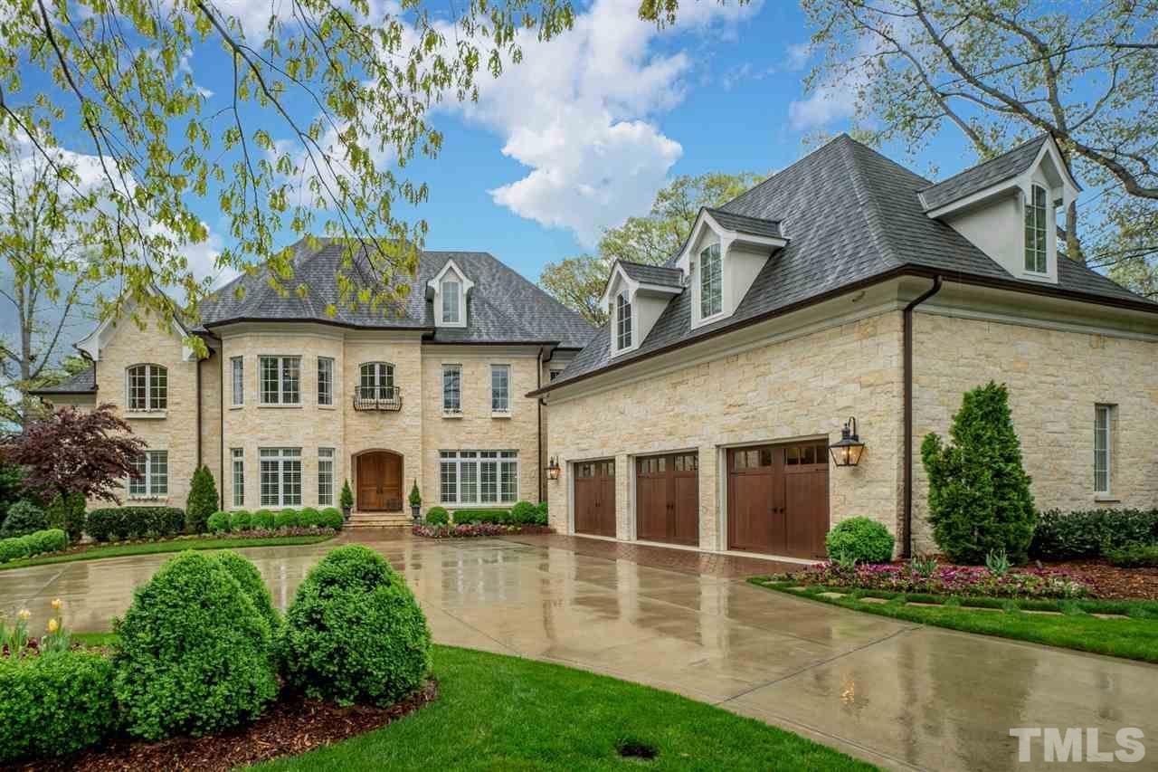 million dollar raleigh nc home