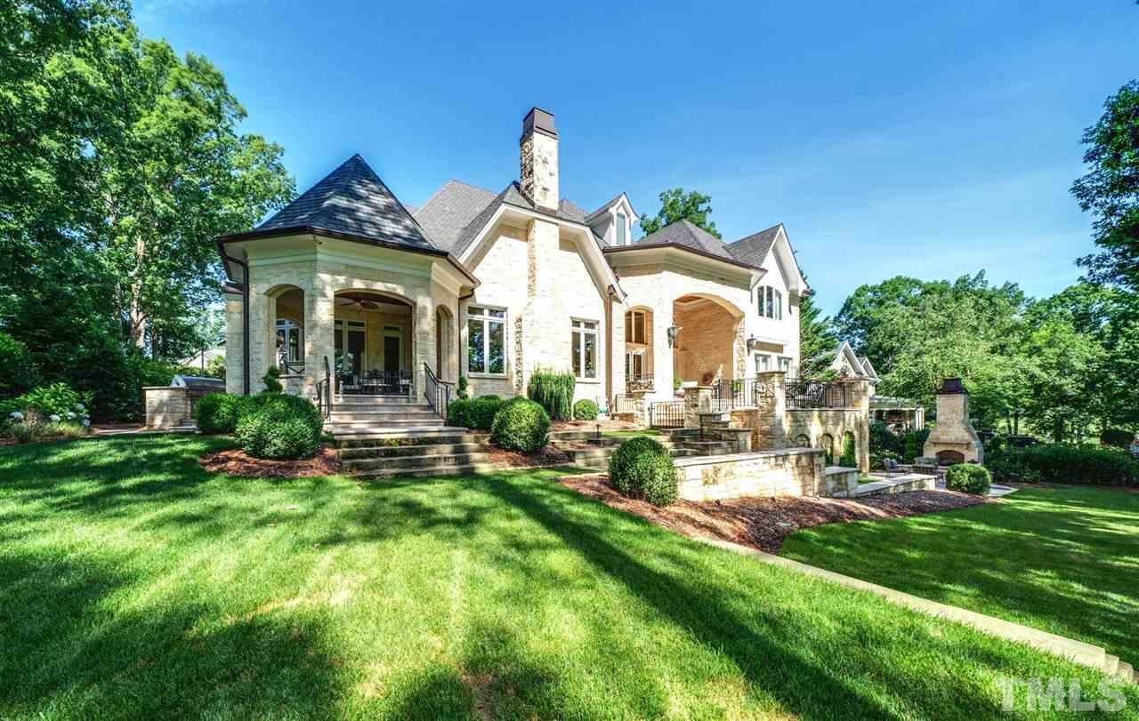 million dolllar raleigh nc homes for sale