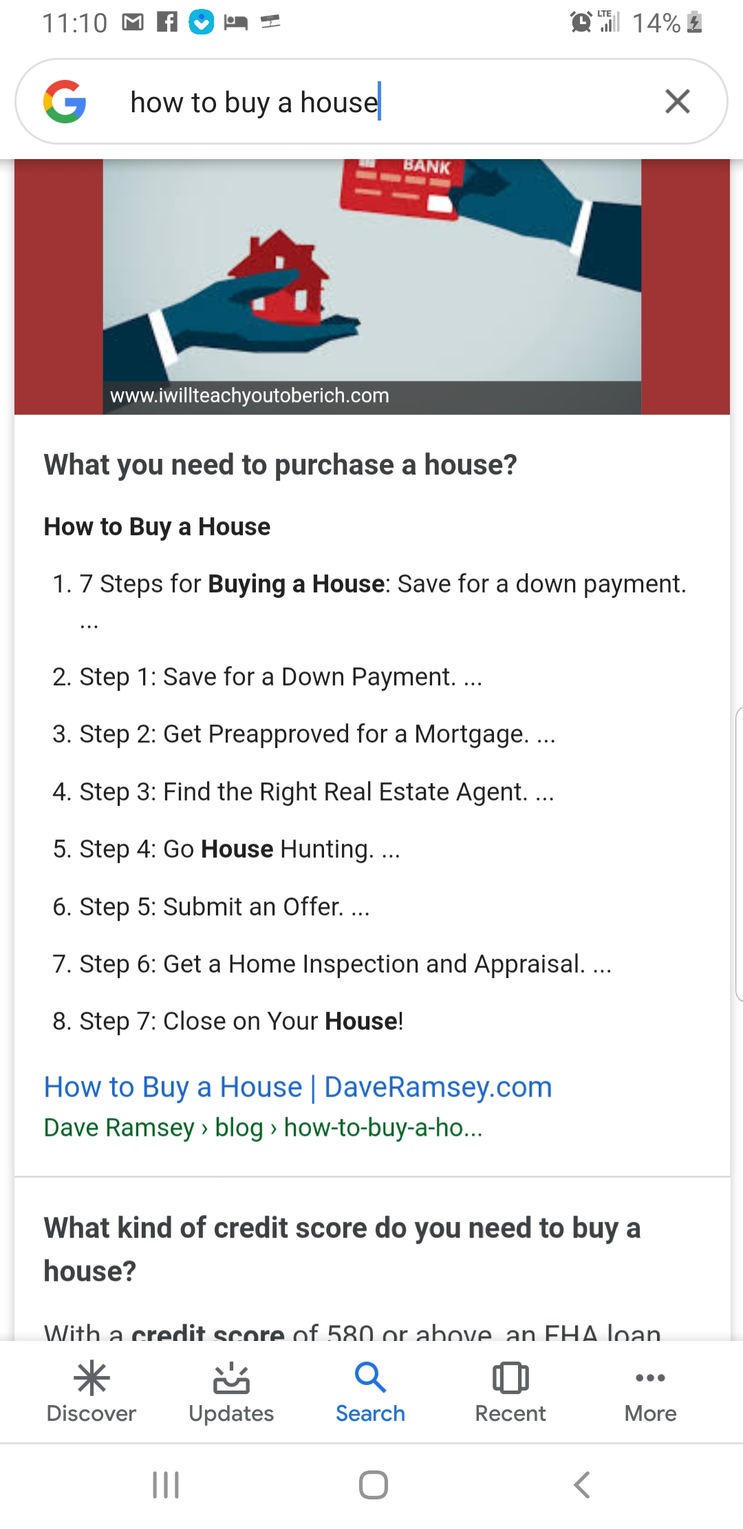 The Search of how to buy a house