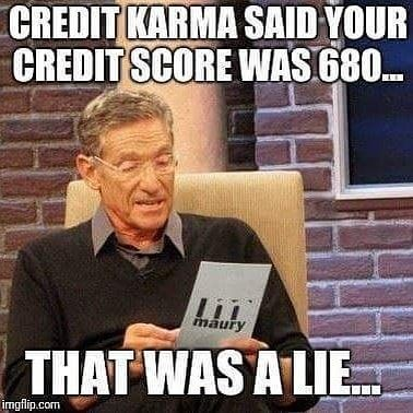 Get credit checked by a professional