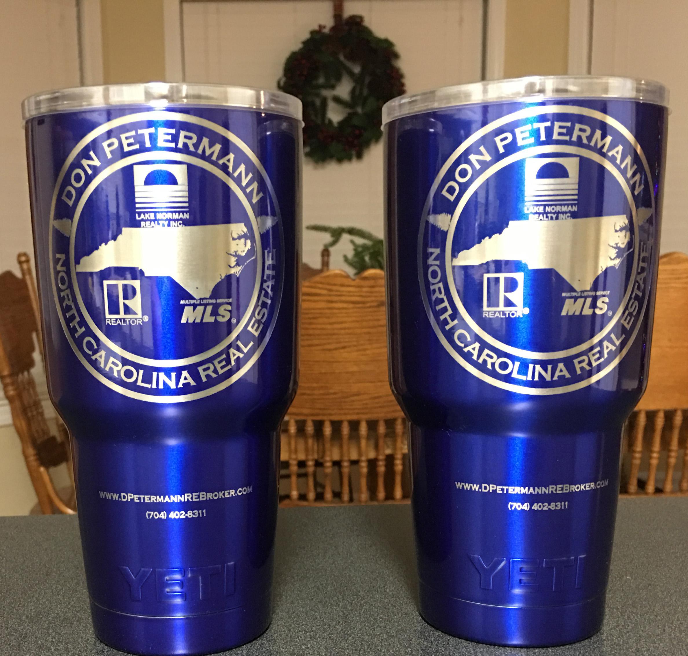 Blue Yeti Logo Cups