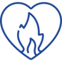 Icon of Passionate Heart