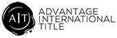 Advantage International Title Logo